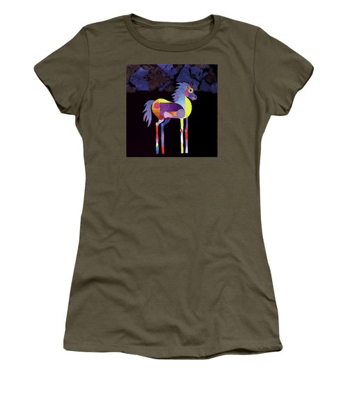 Night Foal Women's T-Shirt (Athletic Fit)