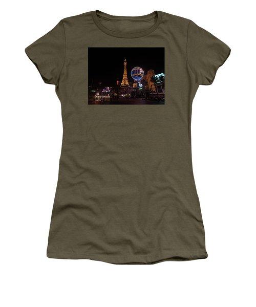 Night In Vegas Women's T-Shirt