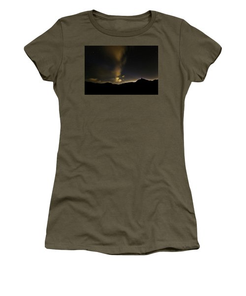 Night Time At Palo Duro Canyon State Park - Texas Women's T-Shirt (Athletic Fit)