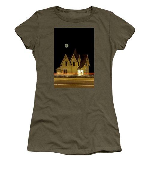 Night View Women's T-Shirt (Junior Cut) by Tony Locke