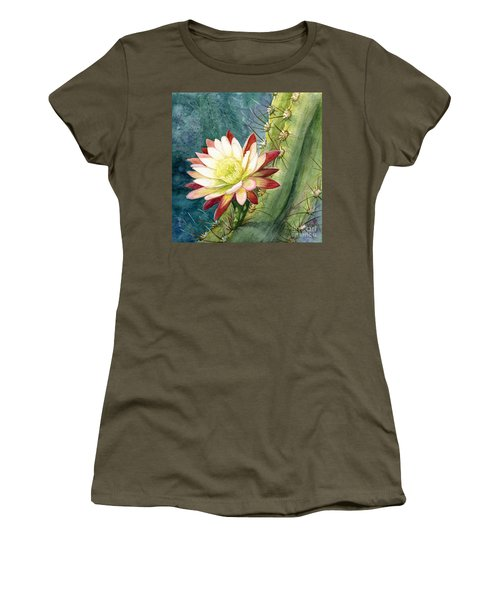 Nightblooming Cereus Cactus Women's T-Shirt