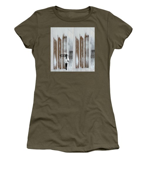 Women's T-Shirt (Athletic Fit) featuring the photograph No Rain Forest by LemonArt Photography
