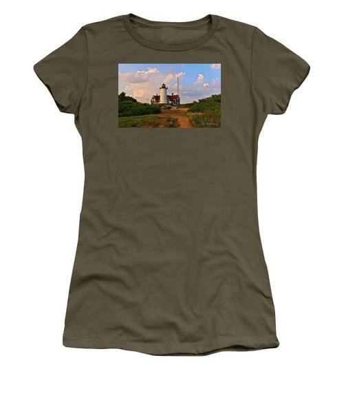 Nobska Lighthouse Women's T-Shirt