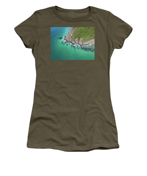 Women's T-Shirt (Athletic Fit) featuring the photograph Noosa National Park by Keiran Lusk