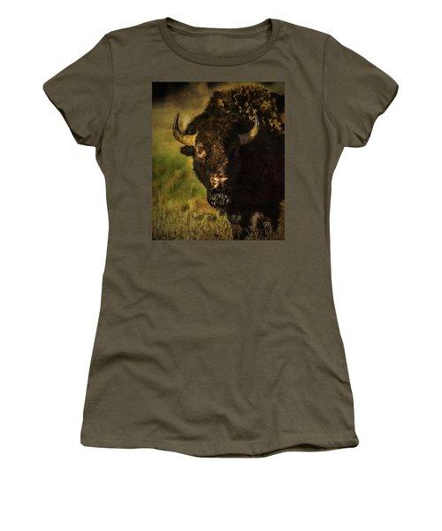 North American Buffalo Women's T-Shirt