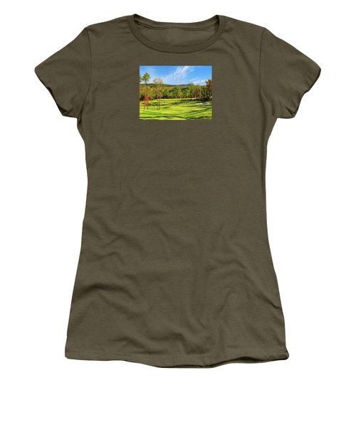 North Carolina Golf Course 14th Hole Women's T-Shirt