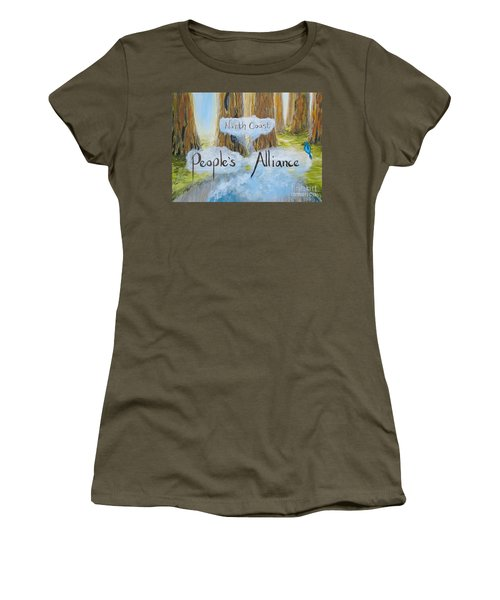 North Coast People's Alliance Women's T-Shirt (Athletic Fit)