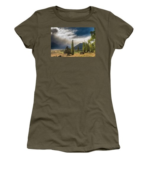 Women's T-Shirt (Athletic Fit) featuring the photograph North Of Glenorchy by Gary Eason