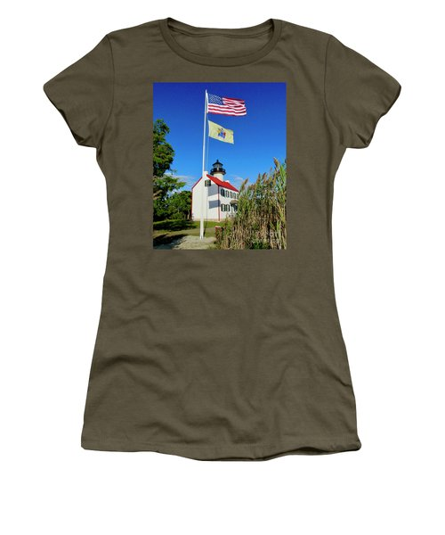 North Wind At East Point Light Women's T-Shirt (Athletic Fit)
