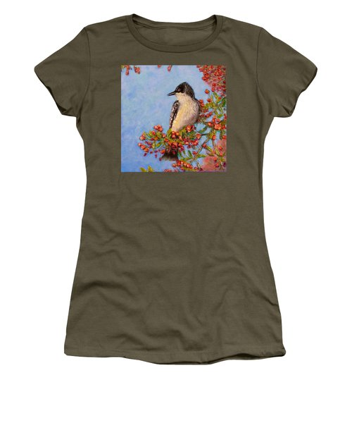 Northern King Bird  Women's T-Shirt (Athletic Fit)