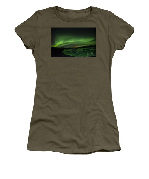 Northern Lights 3 Women's T-Shirt (Athletic Fit)