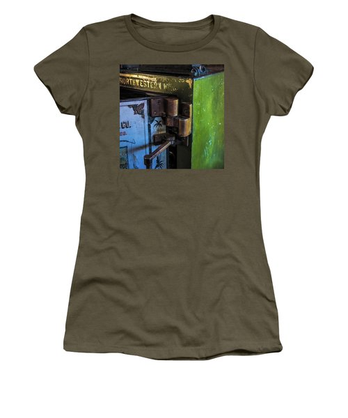 Women's T-Shirt (Junior Cut) featuring the photograph Northwestern Safe by Paul Freidlund