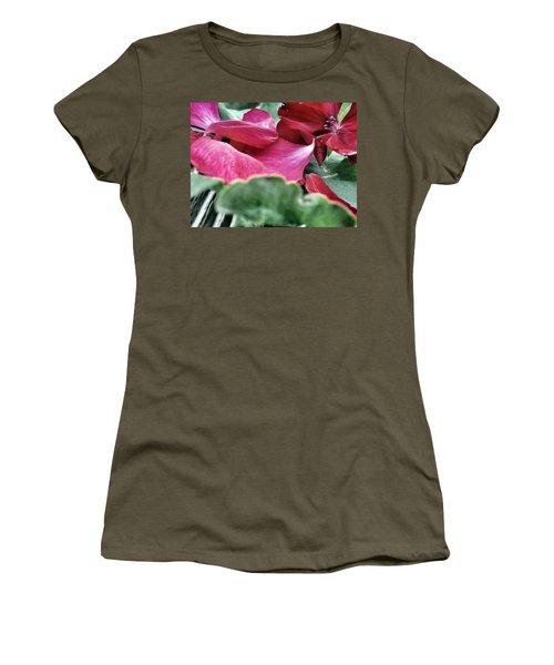 Women's T-Shirt featuring the photograph Not A 4 Leaf Clover by Robert Knight
