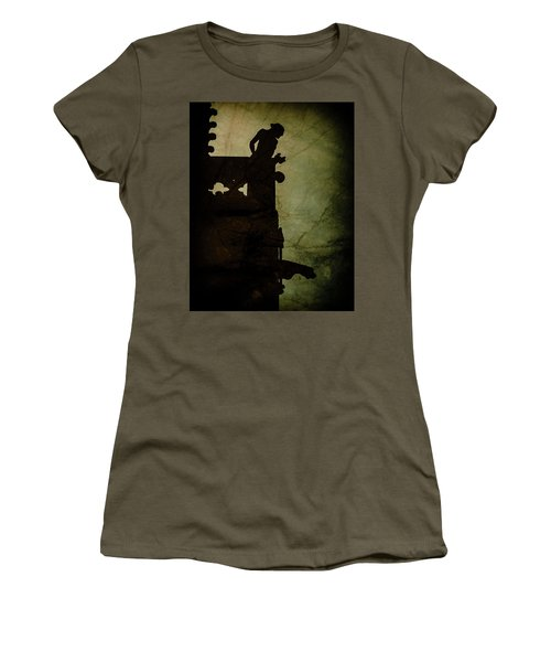 Paris, France - Gargoyle Watch Women's T-Shirt