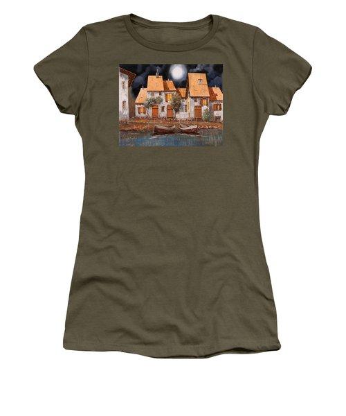 Notte Di Luna Piena Women's T-Shirt