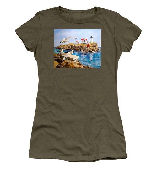 Nubble Light Women's T-Shirt (Athletic Fit)