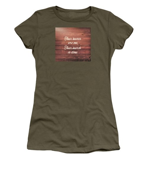 Nuptial Note Women's T-Shirt (Athletic Fit)