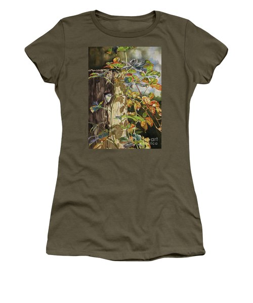 Nuthatch And Creeper Women's T-Shirt