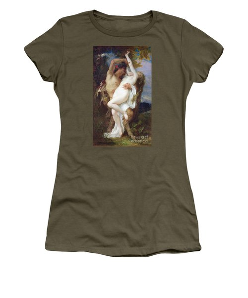 Nymph Abducted By A Faun Women's T-Shirt