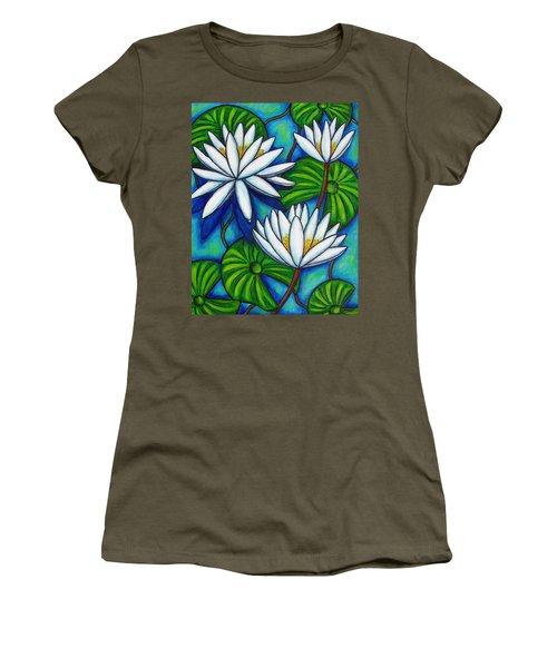 Nymphaea Blue Women's T-Shirt