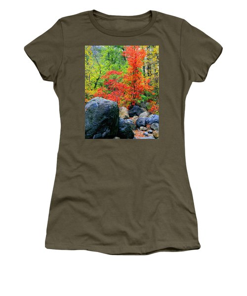 Oak Creek Canyon Red Women's T-Shirt (Athletic Fit)