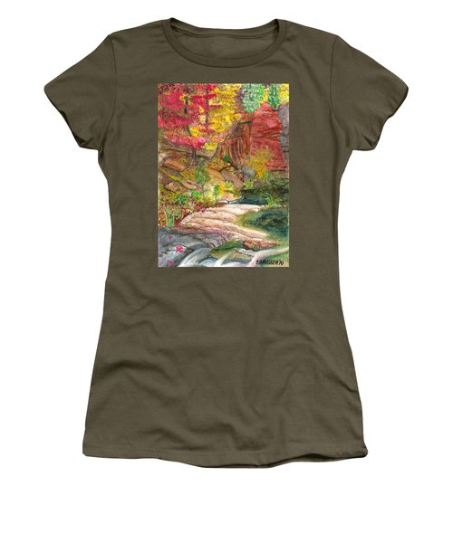 Oak Creek West Fork Women's T-Shirt (Athletic Fit)