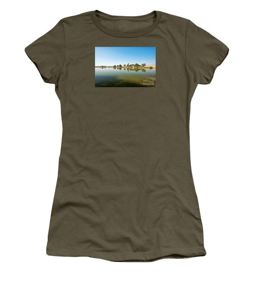 Women's T-Shirt (Athletic Fit) featuring the photograph Oasis by Yew Kwang