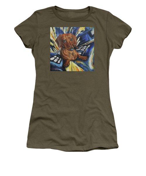 Dachshund Time Lord Women's T-Shirt