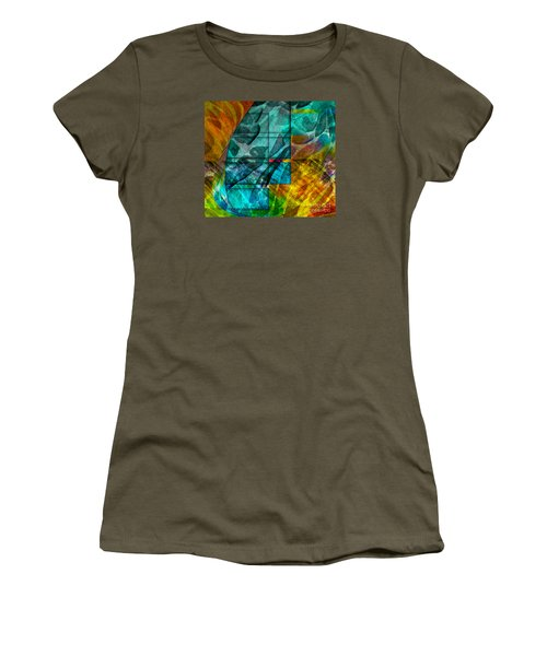 Ocean Doors Women's T-Shirt (Junior Cut) by Allison Ashton