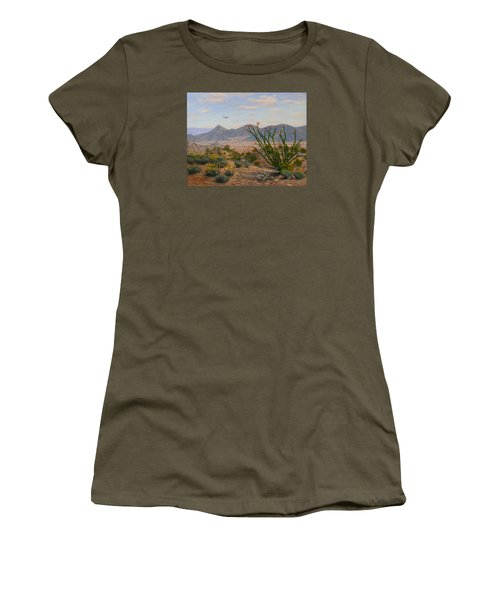 Ocotillo Paradise Women's T-Shirt (Athletic Fit)