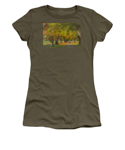 October Morning At Easton Country Club Women's T-Shirt
