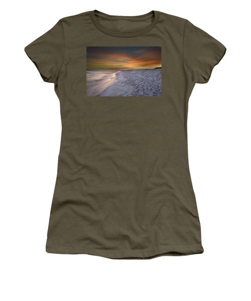 Women's T-Shirt (Junior Cut) featuring the photograph October Night by Renee Hardison
