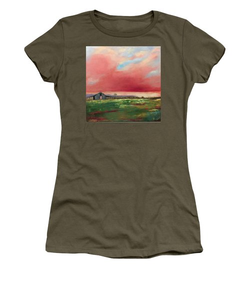 Off Highway 27 Women's T-Shirt (Athletic Fit)