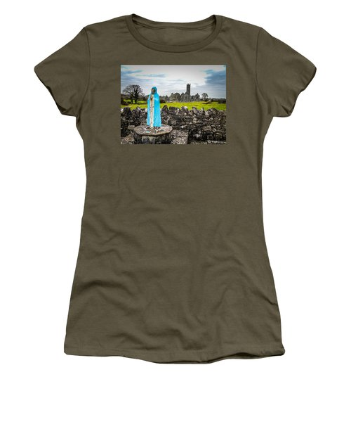 Official Greeter At Ireland's Quin Abbey National Monument Women's T-Shirt