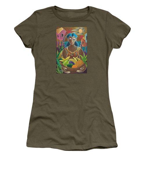 Ofrendas De Mi Tierra Women's T-Shirt (Athletic Fit)