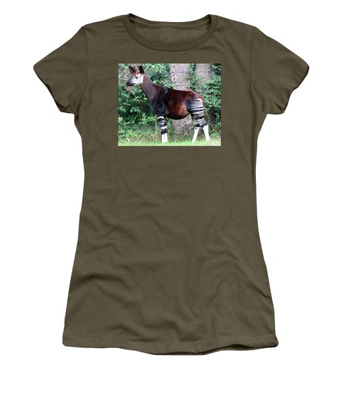 Okapi Women's T-Shirt (Athletic Fit)