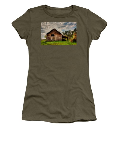 Old Barn Women's T-Shirt (Junior Cut) by Ester Rogers