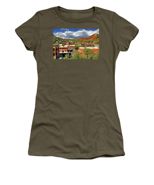 Old Bisbee Arizona Women's T-Shirt (Athletic Fit)