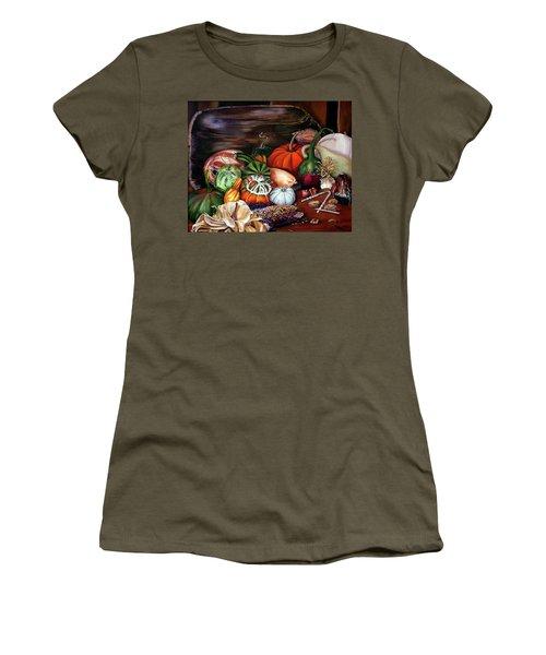 Old Bowl Cornucopia Women's T-Shirt