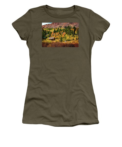 Old Cabin In Hope Valley Women's T-Shirt