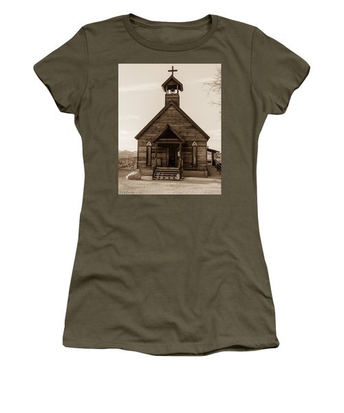 Old Church Women's T-Shirt (Athletic Fit)