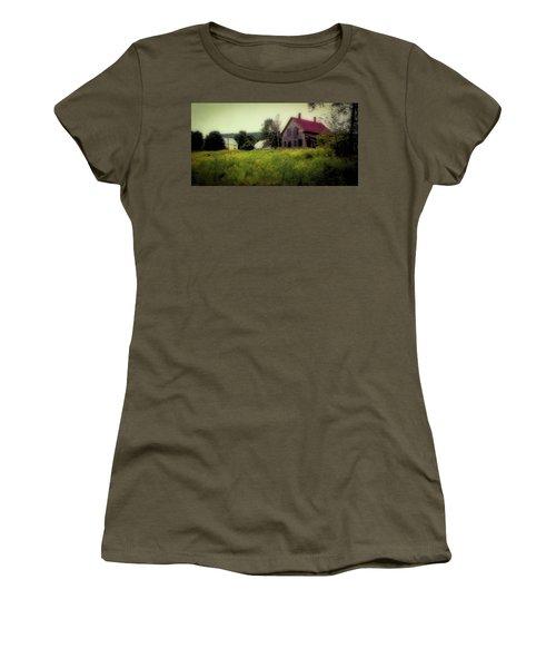 Old Farmhouse - Woodstock, Vermont Women's T-Shirt