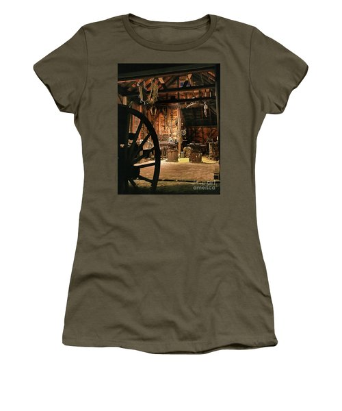 Old Forge Women's T-Shirt (Junior Cut) by Tom Cameron