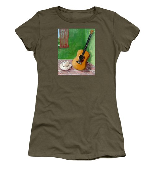 Old Friends Women's T-Shirt (Junior Cut) by Laurie Morgan