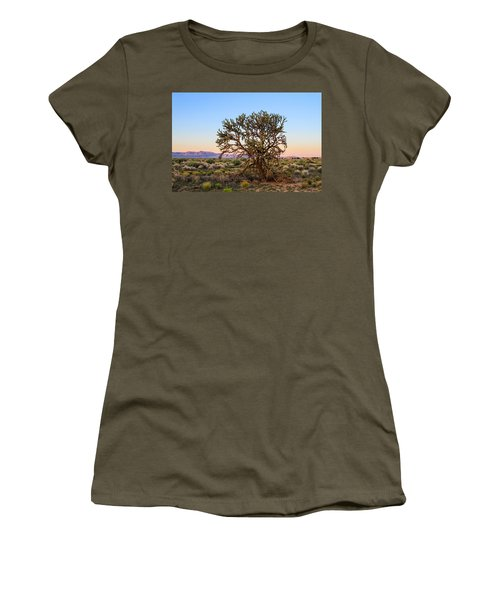 Old Growth Cholla Cactus View 2 Women's T-Shirt (Athletic Fit)