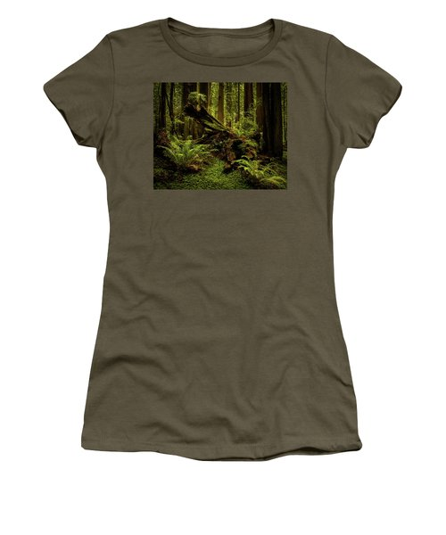 Old Growth Forest Women's T-Shirt
