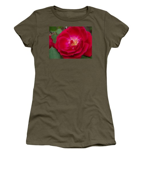 Old Homestead Rose Women's T-Shirt (Athletic Fit)
