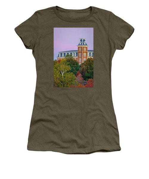 Old Main Sky Women's T-Shirt (Athletic Fit)