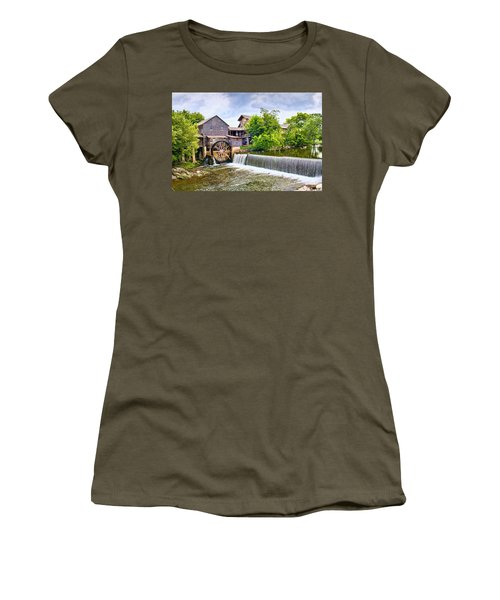 Old Pigeon Forge Mill Women's T-Shirt