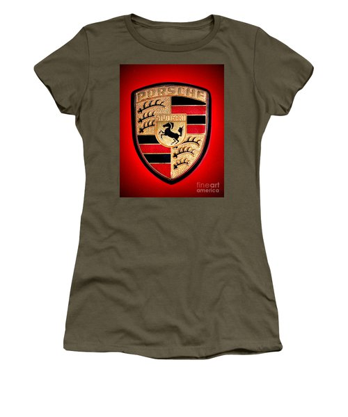 Old Porsche Badge Women's T-Shirt